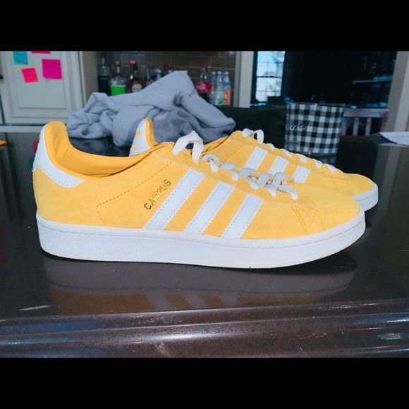 adidas campus yellow